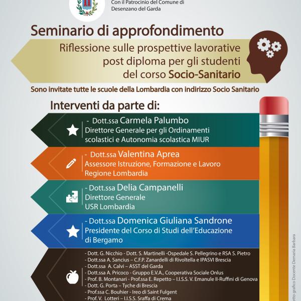 Seminario di approfondimento sulle prospettive lavorative del percorso professionale socio sanitario